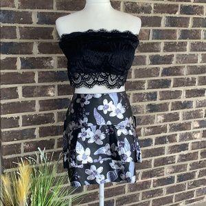 NWT Faux Leather Zara Skirt
